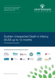 Sudden Unexpected Death in Infancy (SUDI) cover