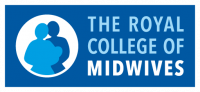 A logo for the Royal College of Midwives